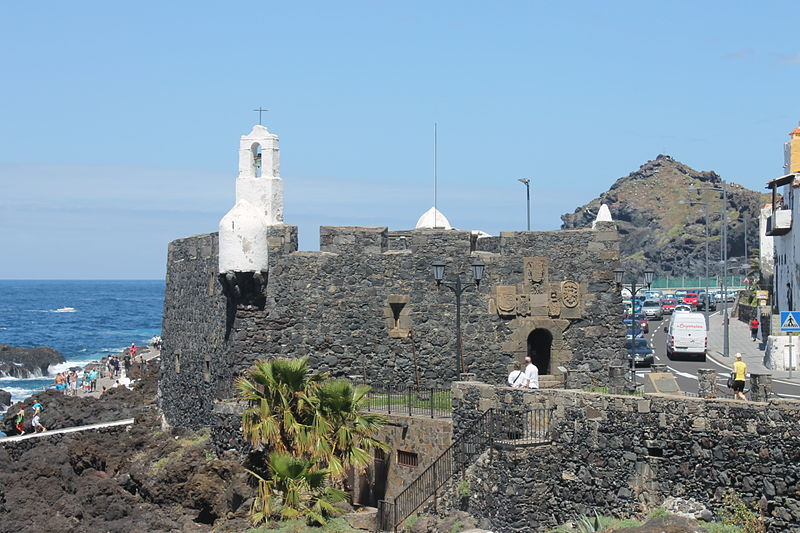 San Miguel Castle, Garachico
