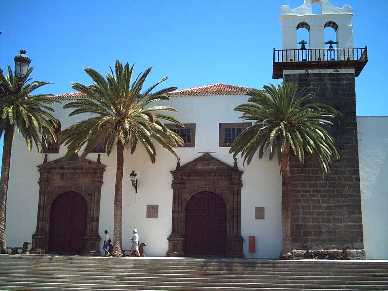 Church in Garachico, Tenerife