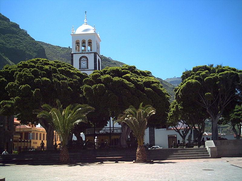 Square in Garachico, Tenerife