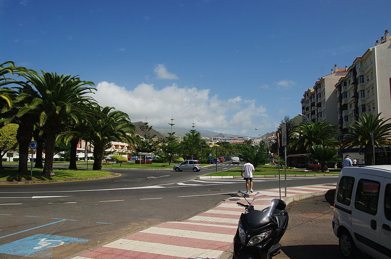 In Los Cristianos, Tenerife