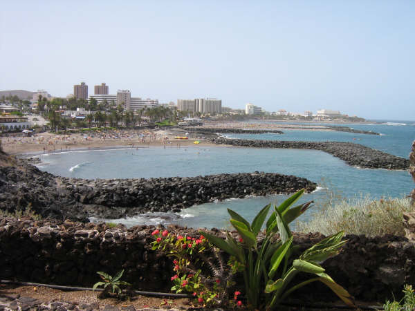 Coast of Playa de las Americas, Tenerife