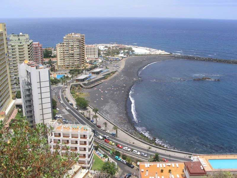 Puerto de la cruz travel guide exotic tenerife - Playa puerto de la cruz tenerife ...