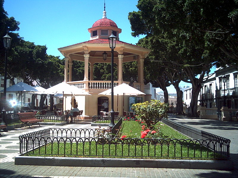 Square in Los Silos, Tenerife