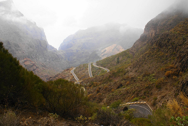 Tenerife motorways