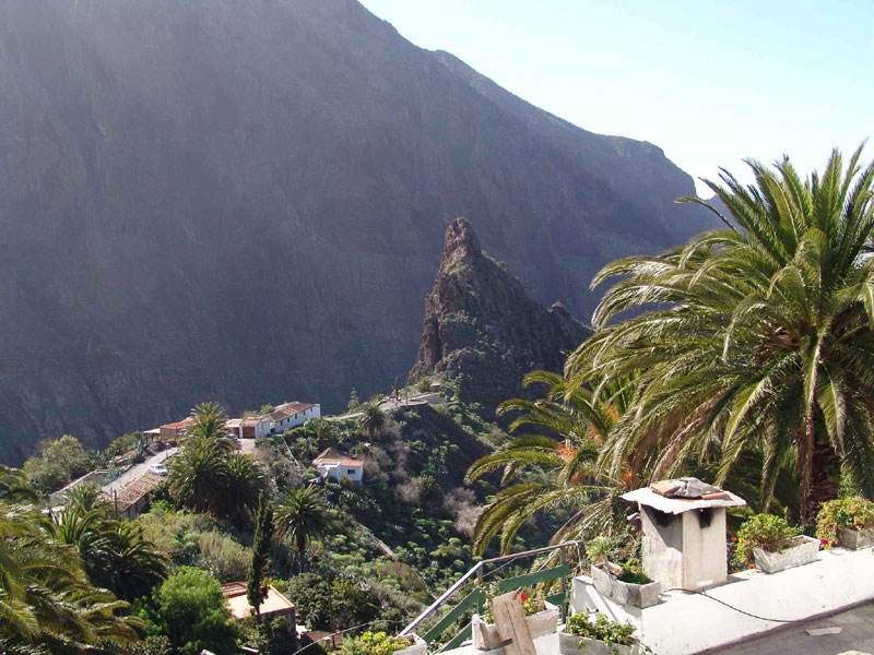Village of Masca in Tenerife