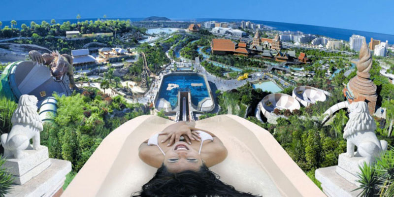 Tower of Power, Siam Park